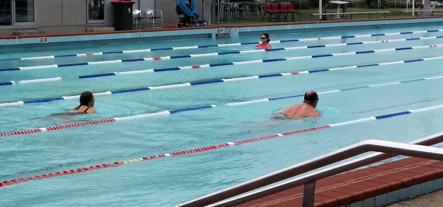 pool elderly